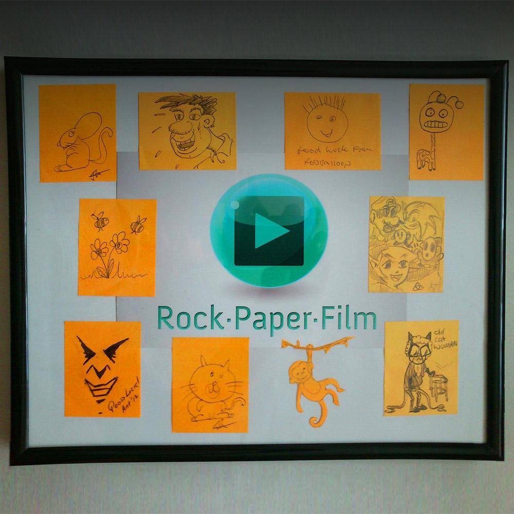 Animation Studio Post-it Gallery