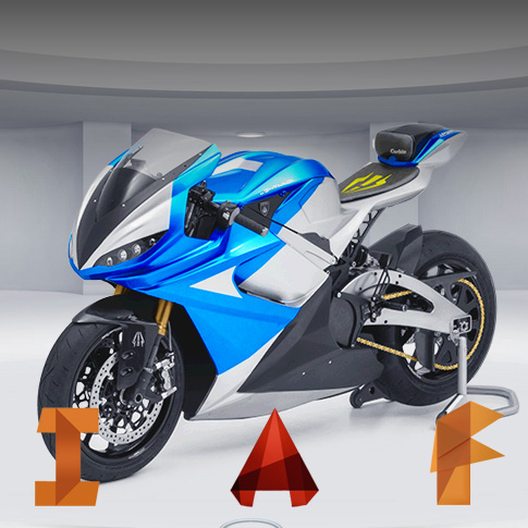 Autodesk, 3D Printing and Motorbikes.