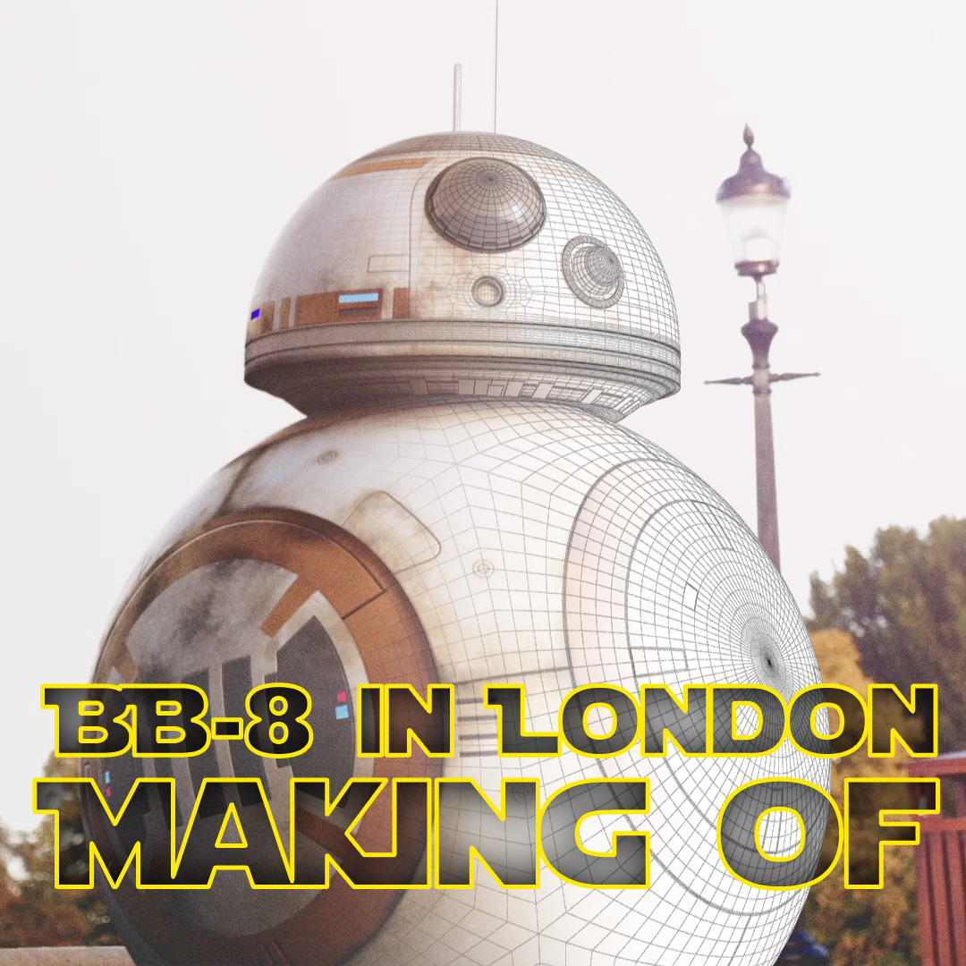 BB8 in London Making Of
