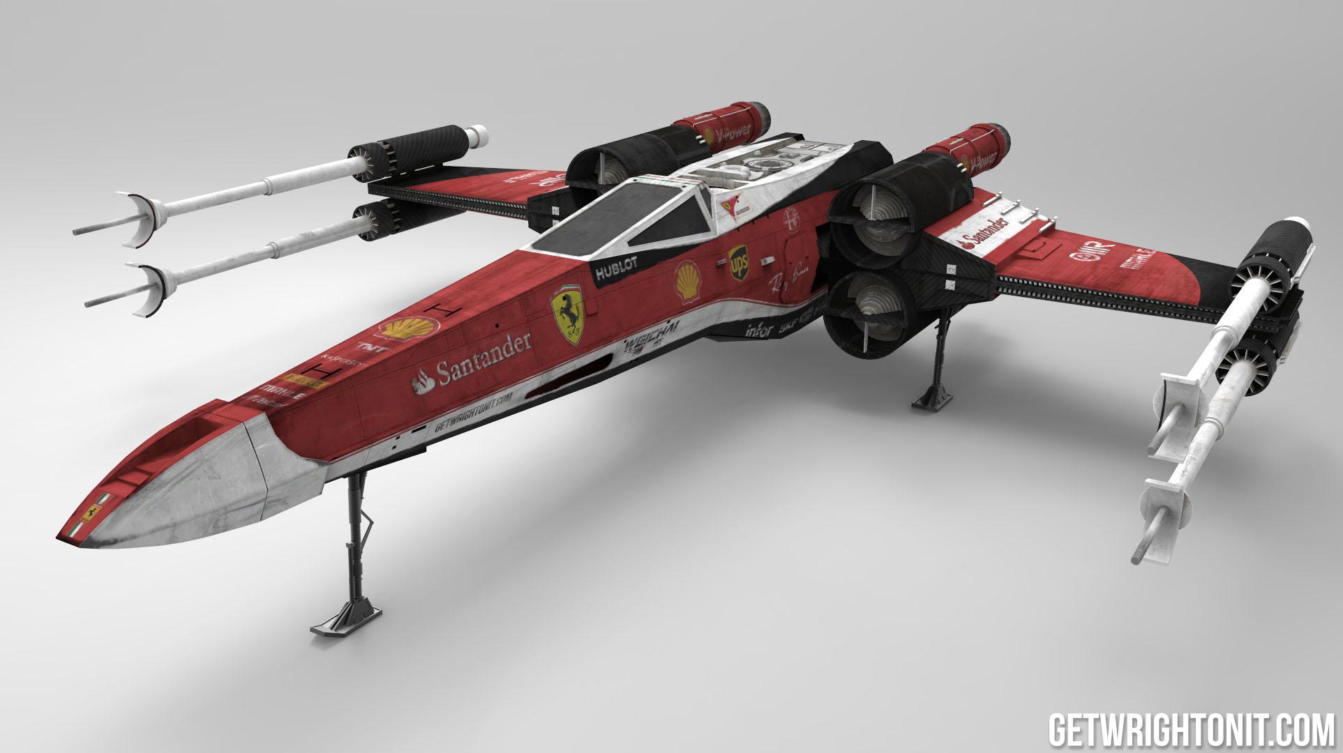Ferrari F1 X,Wing Gallery